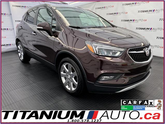 2017 Buick Encore Essence+GPS+Leather+Sunroof+Blind Spot+Remote Star