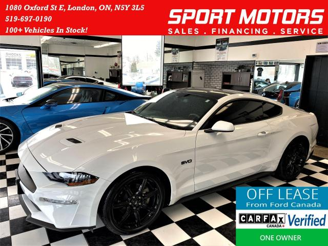 2018 Ford Mustang EcoBoost+Tinted+Exhaust+Camera+Black Wheels