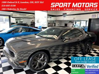 Used 2018 Dodge Challenger SXT Plus+CooledLeather+Roof+NewTires+ACCIDENT FREE for sale in London, ON