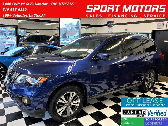 2017 Nissan Pathfinder SL 4x4 7 Passenger+360 CAM+GPS+Roof+ACCIDENT FREE