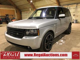 Used 2012 Land Rover Range Rover HSE LUX 4D Utility for sale in Calgary, AB