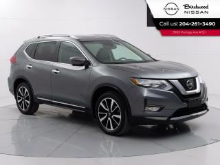 Used 2017 Nissan Rogue SL Platinum Leather, 360 Camera's, Navigation, Remote Start for sale in Winnipeg, MB