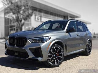 New 2021 BMW X5 M Competition ULTIMATE PACKAGE for sale in Winnipeg, MB
