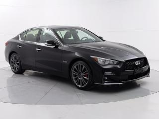 Used 2020 Infiniti Q50 RED SPORT ProActive PKG 400 HP, No Accidents, Apple CarPlay, Bose Audio for sale in Winnipeg, MB
