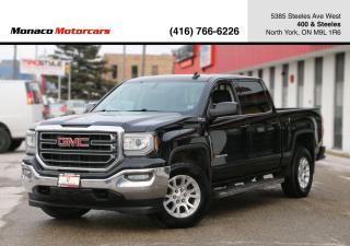 Used 2017 GMC Sierra 1500 5.3L V8 SLE Z71 CREW CAB - 6PASS|BACKUP CAMERA for sale in North York, ON