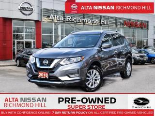 Used 2018 Nissan Rogue SV Tech PKG   PWR Liftgate   Navi   360CAM   Pano for sale in Richmond Hill, ON