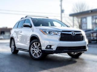 Used 2015 Toyota Highlander XLE |NAV |BACK UP | DVD | ROOF | 7 SEATER |PRICE TO SELL for sale in North York, ON
