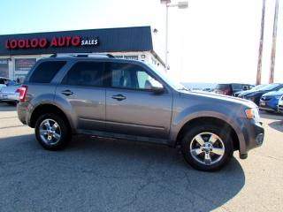 Used 2009 Ford Escape LIMITED 4WD V6 LEATHER SUNROOF CERTIFIED 2YR WARRANTY for sale in Milton, ON