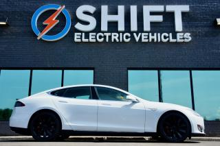 Used 2014 Tesla Model S P85D AUTOPILOT, SUB ZERO, CARFAX CLEAN for sale in Oakville, ON