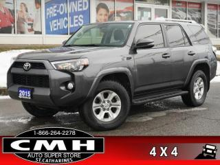 Used 2015 Toyota 4Runner SR5  NAV CAM ROOF LEATH HTD-SEATS 17-AL for sale in St. Catharines, ON