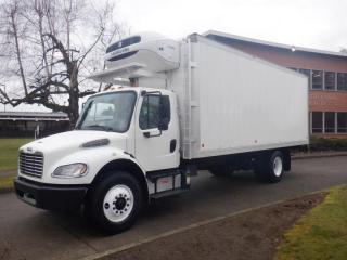 Used 2014 Freightliner M2106 Cube Van 22 foot Box Reefer Air Brakes Diesel for sale in Burnaby, BC