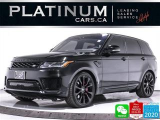 Used 2019 Land Rover Range Rover Sport HST MHEV, HYBRID, NAV, DRIVER PKG, HEATED/VENTED for sale in Toronto, ON