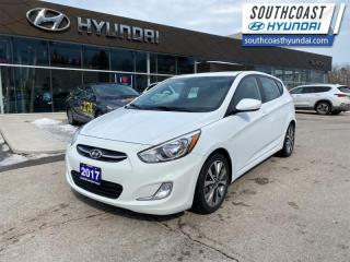 Used 2017 Hyundai Accent SE  - Sunroof -  Bluetooth - $77 B/W for sale in Simcoe, ON
