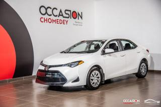 Used 2018 Toyota Corolla LE+CAM/RECUL+SIEG/CHAUFF+GR.ELECT for sale in Laval, QC