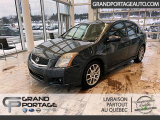Used 2009 Nissan Sentra Berline 14, manuelle, SE-R Spec-V for sale in Rivière-Du-Loup, QC
