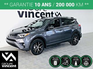 Used 2018 Toyota RAV4 SE AWD CUIR ** GARANTIE 10 ANS ** Beaucoup d'équipements! for sale in Shawinigan, QC