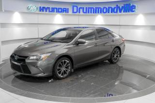 Used 2015 Toyota Camry XSE + GARANTIE + NAVI + CAMERA + CUIR + for sale in Drummondville, QC