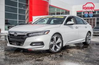 Used 2018 Honda Accord GARANTIE LALLIER 10ANS/200,000 KILOMETRES INCLUSE* LE PLUS BEUA CHOIX DE ACCORD AU QUEBEC for sale in Terrebonne, QC