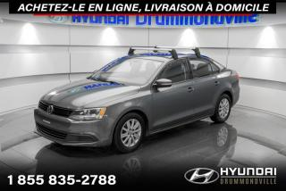 Used 2014 Volkswagen Jetta COMFORTLINE + GARANTIE + TOIT + A/C + WO for sale in Drummondville, QC