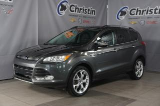 Used 2016 Ford Escape 4X4 SUNROOF PANO NAVIGATION SIEGE CUIR/TISSUS FOG for sale in Montréal, QC