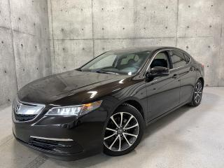 Used 2015 Acura TLX SH-AWD V6 TECH * GPS * CAMERA CUIR TOIT OUVRA for sale in St-Nicolas, QC