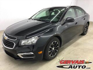 Used 2016 Chevrolet Cruze LT MAGS BLUETOOTH CAMÉRA for sale in Trois-Rivières, QC