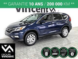 Used 2016 Honda CR-V SE AWD ** GARANTIE 10 ANS ** Le légendaire CR-V AWD à bon prix! for sale in Shawinigan, QC
