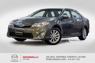 Used 2012 Toyota Camry XLE GPS Cuir Siege Chauffant Toit Ouvrant Blutooth Toyota Camry XLE 2012 for sale in Lachine, QC