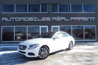 Used 2015 Mercedes-Benz C 300 4MATIC -GARANTIE MERCEDES -  NAVI - TOIT PANO - for sale in Québec, QC