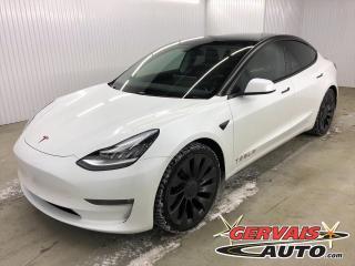 Used 2021 Tesla Model 3 Performance DUAL MOTOR  échange accepté for sale in Shawinigan, QC