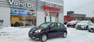 Used 2019 Nissan Micra S *** 3 EN INVENTAIRE + AUTOMATIQUE + A/C *** Encore Neuve !! for sale in Val-d'Or, QC