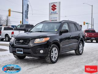 Used 2010 Hyundai Santa Fe Limited AWD ~3.5L V6 ~Nav ~Cam ~Leather ~Sunroof for sale in Barrie, ON