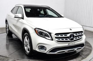 Used 2018 Mercedes-Benz GLA 4MATIC CUIR TOIT PANO MAGS GPS CAMERA DE RECUL for sale in Île-Perrot, QC