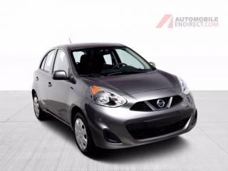 Used 2017 Nissan Micra Sv A/c Bluetooth for sale in Île-Perrot, QC