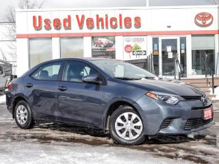 Used 2015 Toyota Corolla CE  - YES WE ARE OPEN! for sale in North York, ON