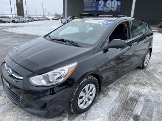 Used 2016 Hyundai Accent GL,MAN,HB,A/C,CRUISE,BLUETOOTH,BANCS CHAUFF,VITRES for sale in Mirabel, QC