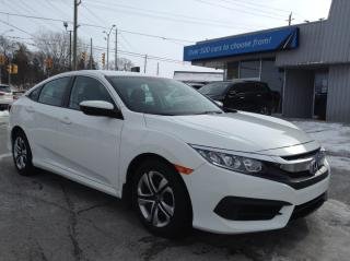 Used 2017 Honda Civic LX HEATED SEATS, BACKUP CAM, BLUETOOTH!! for sale in Kingston, ON