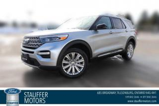 New 2021 Ford Explorer LIMITED for sale in Tillsonburg, ON