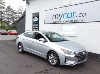Used 2020 Hyundai Elantra Preferred w/Sun & Safety Package SUNROOF,HEATED SEATS/WHEEL, ALLOYS, BACKUP CAM!! for sale in North Bay, ON