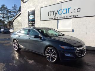 Used 2020 Chevrolet Malibu Premier LEATHER, SUNROOF, HEATED SEATS, LOADED!! for sale in North Bay, ON