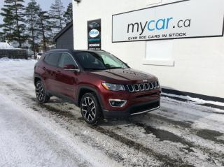 Used 2020 Jeep Compass Limited LEATHER, NAV, PANOROOF, UNREAL DEAL!! for sale in North Bay, ON