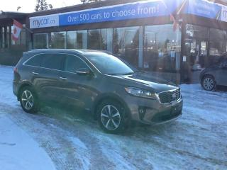 Used 2019 Kia Sorento 3.3L EX V6, 7PASS, LEATHER, HEATED SEATS, UNREAL DEAL!! for sale in North Bay, ON