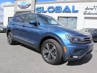 Used 2018 Volkswagen Tiguan Highline for sale in Ottawa, ON