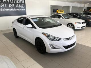 Used 2016 Hyundai Elantra GLS AUTO TOIT A/C CRUISE BT MAGS CAMÉRA for sale in Dorval, QC