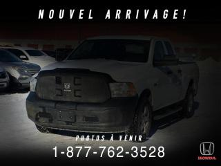 Used 2016 RAM 1500 ST + ECODIESEL + QUAD + 4X4 + MAGS + WOW for sale in St-Basile-le-Grand, QC
