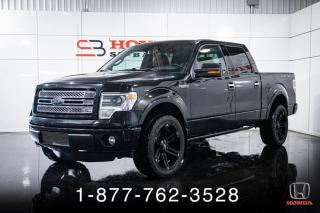 Used 2013 Ford F-150 LIMITED + 3.5L + CREW + NAVI + CUIR + WO for sale in St-Basile-le-Grand, QC