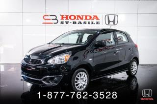 Used 2018 Mitsubishi Mirage ES + AUTO + BLUETOOTH + WOW! for sale in St-Basile-le-Grand, QC