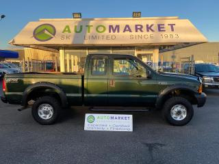 Used 2000 Ford F-250 XL SHORT BOX SUPERCAB 4X4! EX-FORESTRY! RECENT MOTOR AND CLUTCH! for sale in Langley, BC