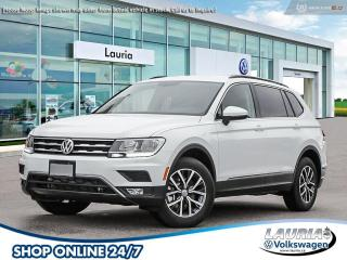New 2021 Volkswagen Tiguan 2.0T Comfortline 4Motion AWD for sale in PORT HOPE, ON