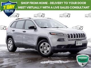 Used 2014 Jeep Cherokee Sport Winter time... Its a Jeep Thing for sale in Welland, ON